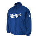 Majestic MLB Los Angeles Dodgers Authentic Double Climate On-Field jacket (blue)