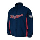 MLB Minnesota Twins Authentic Double Climate On-Field jacket (navy) Majestic