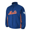 Majestic MLB New York Mets Authentic Double Climate On-Field jacket (blue)