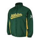 MLB Oakland Athletics Authentic Double Climate On-Field jacket (green) Majestic