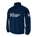 MLB San Diego Padres Authentic Double Climate On-Field jacket (navy) Majestic