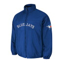 MLB Tronto Blue Jays Authentic Double Climate On-Field jacket (blue) Majestic