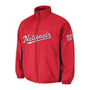 Majestic MLB Washington nationals Authentic Double Climate On-Field jacket (red)