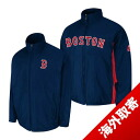 -1 MLB Boston Red Sox Authentic Triple Climate 3-In On-Field jacket (navy / road) Majestic