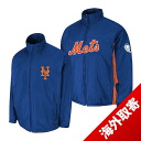 Majestic MLB New York Mets Authentic Triple Climate-in-1 On-Field jacket (blue)