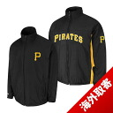 Majestic MLB Pittsburgh Pirates Authentic Triple Climate-in-1 On-Field jacket (black)