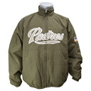 MLB San Diego Padres Authentic Double Climate On-Field jacket (olive) Majestic