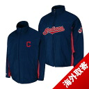 -1 MLB Cleveland Indians Authentic Triple Climate 3-In On-Field jacket (navy) Majestic