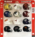 12 12 NCAA PAC Pocket Size Conference Piece helmet set Riddell