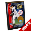 MLB Yankees #2 Derek Jeter 4x6 Dirt Plaque Steiner Sports
