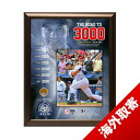 MLB Yankees # 2 Derek Jeter Road To 3000 Dirt Collage Steiner Sports