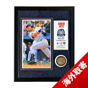 MLB Yankees # 2 Derek Jeter 3000th Hit Mini Dirt Collage Steiner Sports