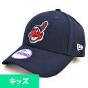 MLB Cleveland Indians Youth Pinch Hitter cap (navy) New Era