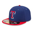 MLB Texas Rangers 2014 Authentic Diamond Era 59FIFTY Cap (game) New Era