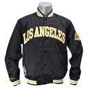 NBA Los Angeles Lakers Third Quarter Satin jacket (black) Mitchell&Ness