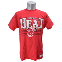 NBA Miami Heat Metallic Shadow T-shirt (red) Mitchell&Ness