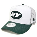 NFL New York Jets D-Frame Trucker Mesh cap (white) New Era