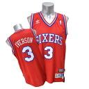 # 3 NBA 76ers Allen Iverson Soul Swingman Jersey (2002-2003 HWC) Adidas