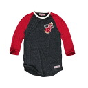 NBA Miami Heat Hustle Play Henley shirt (black / red) Mitchell&Ness