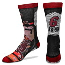 NBA heat #6 Revlon James Player Promo Crew socks For Bare Feet