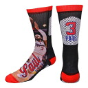 NBA Clippers #3 Chris pole Player Promo Crew socks For Bare Feet