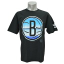 NBA Brooklyn Nets Chrome Horizon T-shirt (black) Adidas