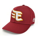 Rakuten Golden Eagle replica cap kids (crimson red) Majestic