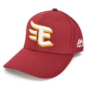 Rakuten Golden Eagle replica cap (crimson red) Majestic