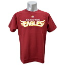 Rakuten Golden Eagles T shirt Jersey number none (crimson red) Majestic