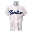 Entering Takeshi Suzuki handwriting signature Tokyo Yakult Swallows recreation replica uniform (home)