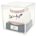 Entering Takeshi Suzuki handwriting signature unification game ball Mizuno