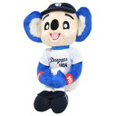 Chunichi Dragons doala plush sitting inside.