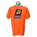 NBA Full Primary Logo Short Sleeve T shirt Phoenix Suns (orange) by adidas