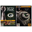 NFL Green Bay Packers Super Bowl Champions XLV & 2010 Green Bay Packers Superbowl XLV Champions 2Pack (import) DVD