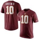 NFL Redskins #10 Robert Griffin III Player Pride Name & Number T-shirt (Burgundy) Nike