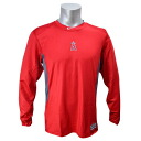 1.2 MLB Los Angeles Angels AC HYPERCOOL LS shirt (red) Nike