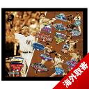 14 MLB Yankees #2 Derek Jeter Time All Star 16x20 Framed Collage Steiner Sports