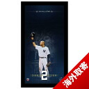 14 MLB Yankees #2 Derek Jeter time All Star Blueprint to Greatness 10x20 Framed Collage Steiner Sports