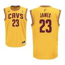 Adidas NBA Cavaliers # 23 LeBron James Revolution Replica Jersey (alternate)