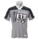 NBA Brooklyn Nets Vintage T-shirt (gray Heather) Mitchell&Ness