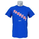 NHL New York Rangers Primary Logo S/S T-shirt (blue) Reebok