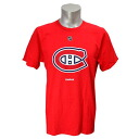 NHL Montreal kana Deanne's Primary Logo S/S T-shirt (red) Reebok