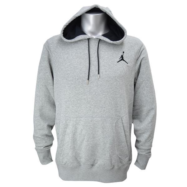 mens air jordan all around pullover hoodie hoody grey. Black Bedroom Furniture Sets. Home Design Ideas