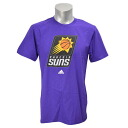 NBA Phoenix Suns Full Primary Logo Short Sleeve T-shirt (purple) Adidas