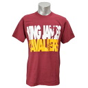 NBA Cavaliers #23 Revlon James Nickname Starcked T-shirt (Marron) Majestic