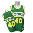 Adidas Soul Swingman Jersey NBA SuperSonics # 40 Shawn Kemp (road)