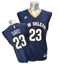 Adidas NBA pelicans # 23 Anthony Davis Revolution Replica Jersey (road)