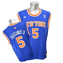 NBA Knicks # 5 Tim Hardaway, Adidas Jr Revolution Replica Jersey (road)