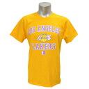 NBA Los Angeles Lakers Hardwood Classics Heart & Soul t-shirt (gold) Majestic