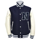 NEW ERA STADIUM jacket N PATCH (Navy/white)